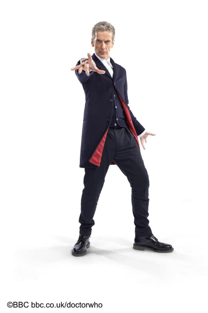 First look at Peter Capaldi's Doctor Who